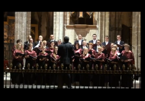 Concert in Cathedral of Barcelona 2012 The Choir of Garwolin Alleluja-R.Twardowski